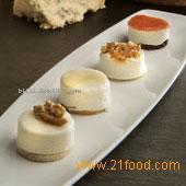 Cheese board minicakes
