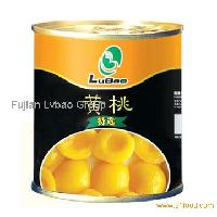 Canned Yellow Peaches in syrup