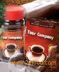 Freeze-dried instant coffee