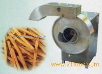 french fries and potato chips cutting machine