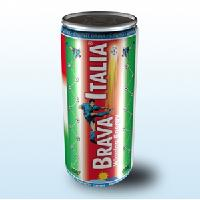 New Italian Energy Drink--Brava Italia