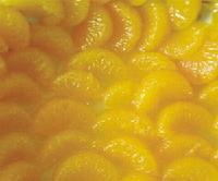 Canned mandarin orange in light syrup