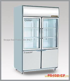 Dual Display Chiller Freezer