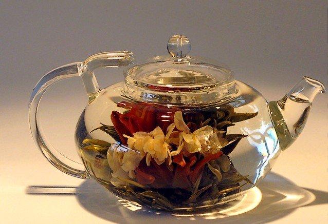 100 Hand Made Flower Blooming Tea Artistic Blooming Tea Balls