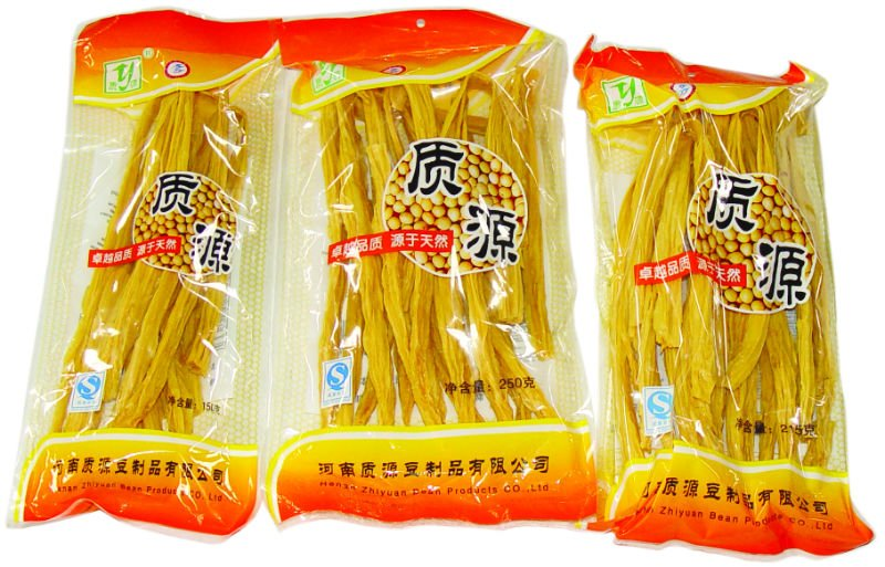 Dried Bean Curd Stick Made By Yellow Bean Products China