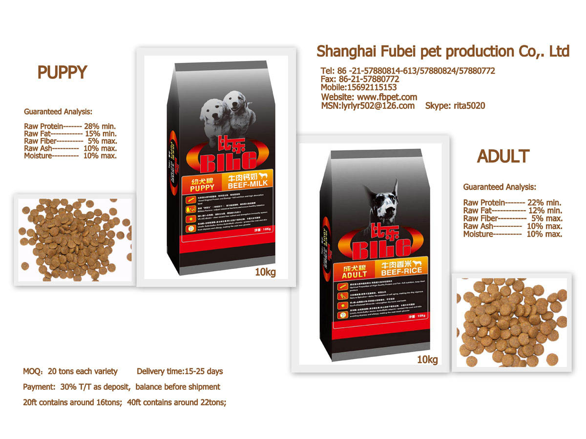 Number  Raw Dog Food Supplier