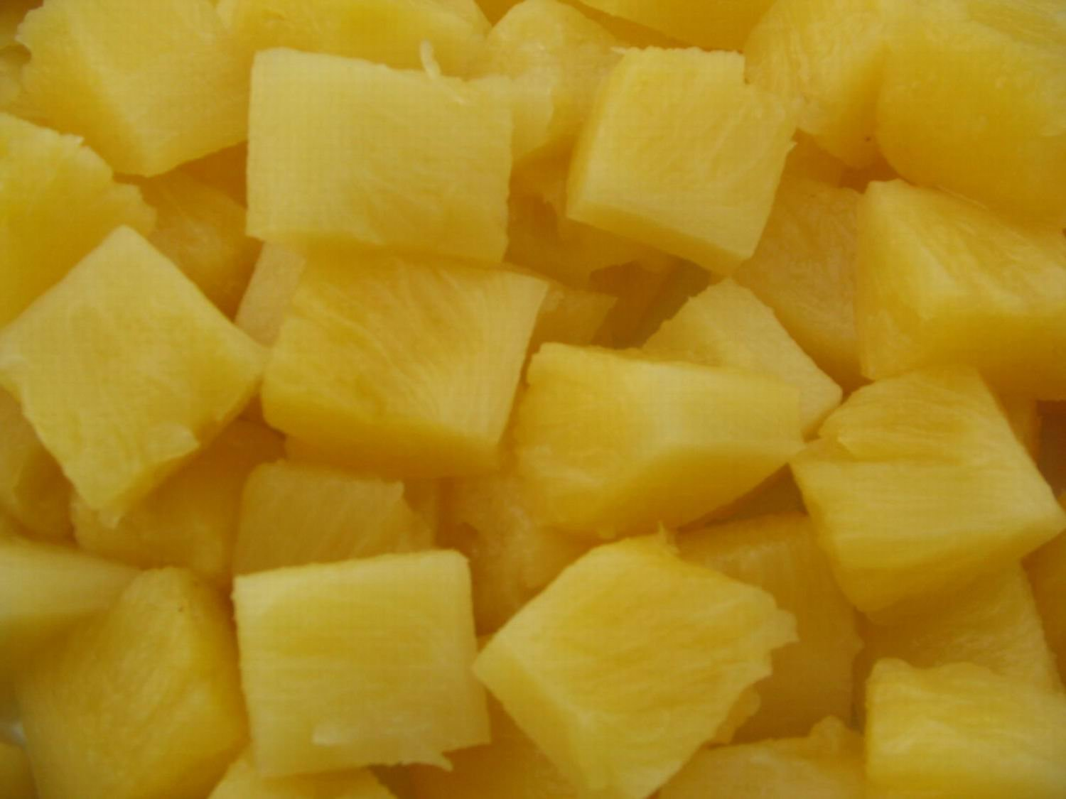 Healthy Food Canned Pineapple Chunks In Natural Juice