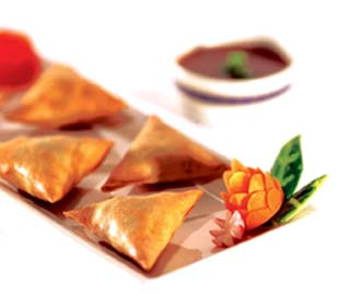 Curry Potato Samosas