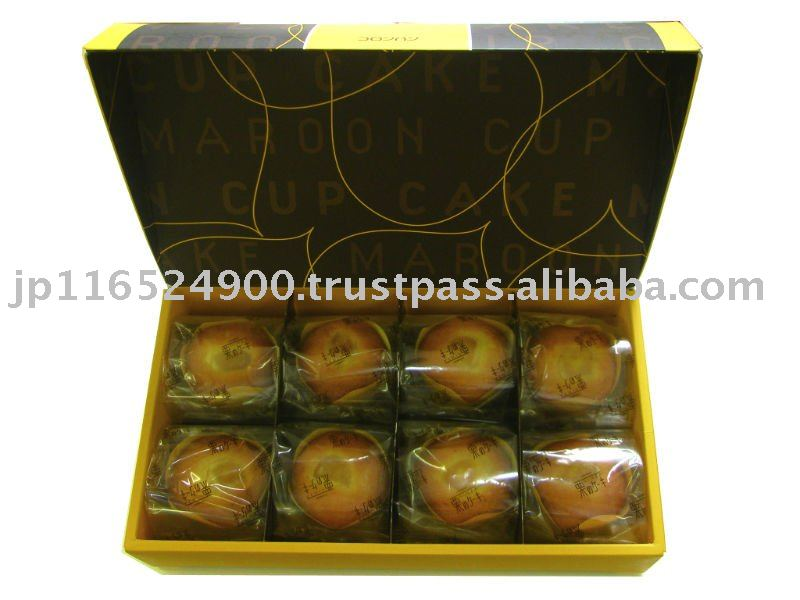 Chestnut Cake 8 (cup cake)