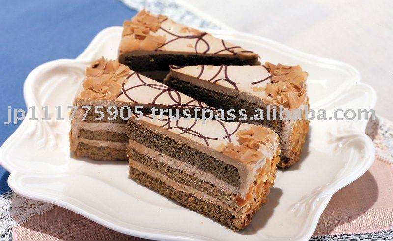Mocha Hazelnut Torte Cake Recipe — Dishmaps