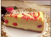 LOVE AND QUICHES PRODUCT LINES-Strawberry Swirl Cheesecake