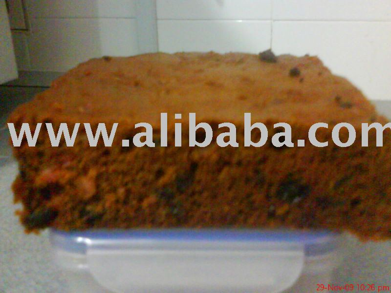 Steam & Bake Fruit Cake (Halal) - no liquor