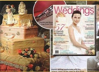 Metro  Wedding Cakes