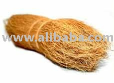 Coconut Bristle Fibre / FIber for Brush - Brown - Uncut