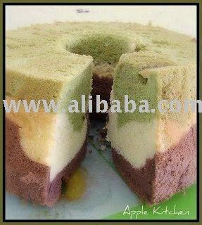Colorful Chiffon Cake