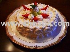 2Lb Fresh Cream Strawberry Cake