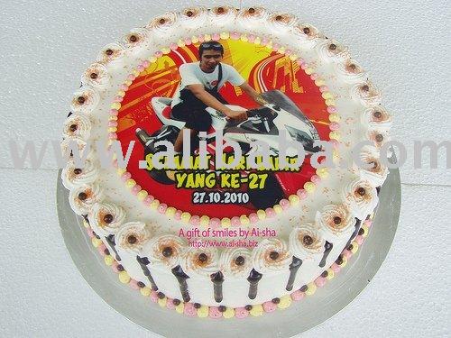 Edible Image Cake Kl : Birthday Cake with Edible by Ai-sha Puchong Jaya products ...
