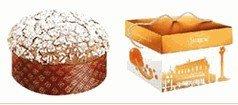 Italian Panettone Cake Sicilian Orange