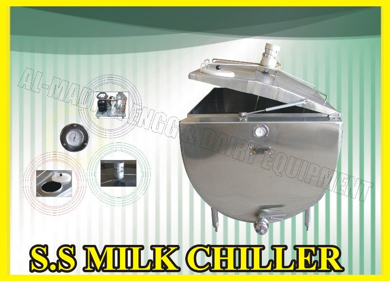 Milk Chiller FCT Farm Milk Cooling Tank