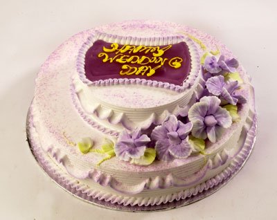 how to make a double tier cake