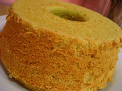 Pandan Chiffon-cake