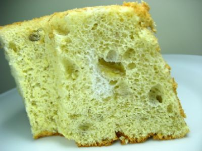 Banana Chiffon-cake