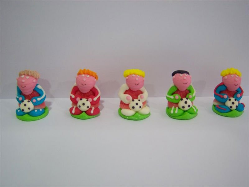 sugar figures with Jelly
