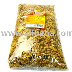 Granola cereal mix fruit 1kg pack from Amazonia Brazil