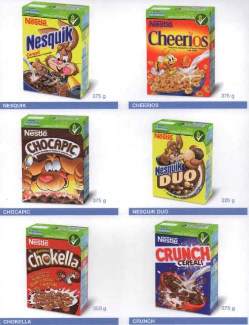 Cereal Nestle