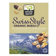 Swiss Style Muesli breakfast cereal