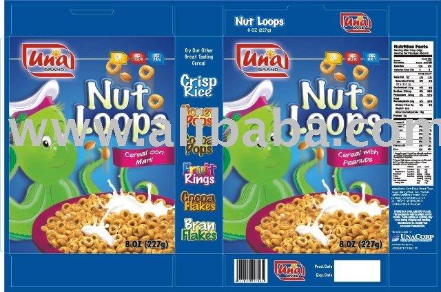 Nut Loops Breakfast Cereal