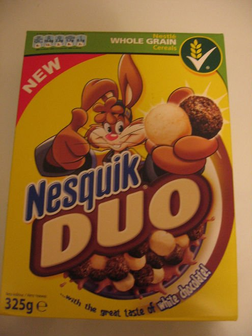 Nesquik Duo Cereals product of Nestle