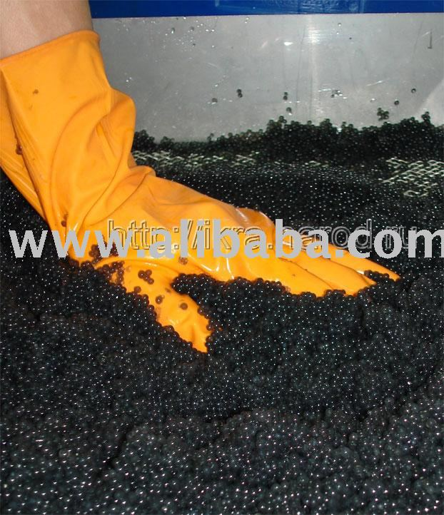 Equipping the type Sevruga for production of the artificial imitation caviar