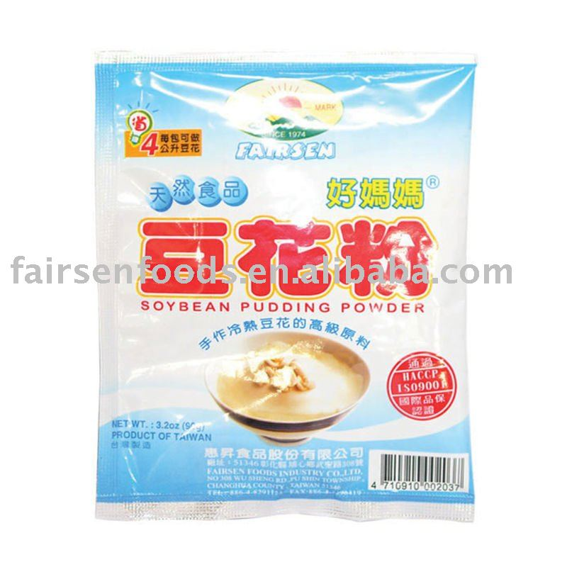 Soybean Pudding Powder, Dessert , Soy-bean milk products