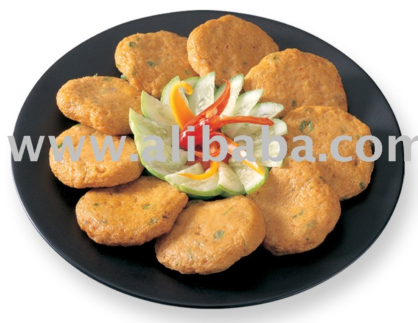 Frozen Fried Fish Cake