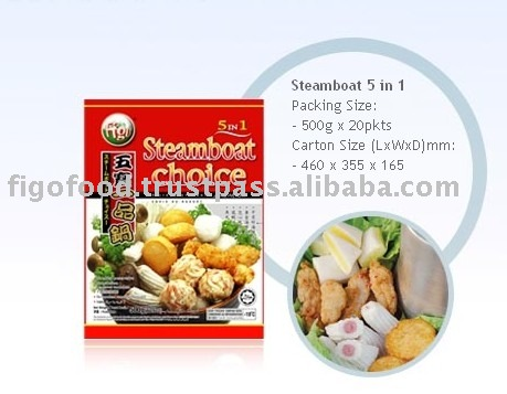 Steamboat frozen food from Malaysia Selangor , Steamboat frozen food