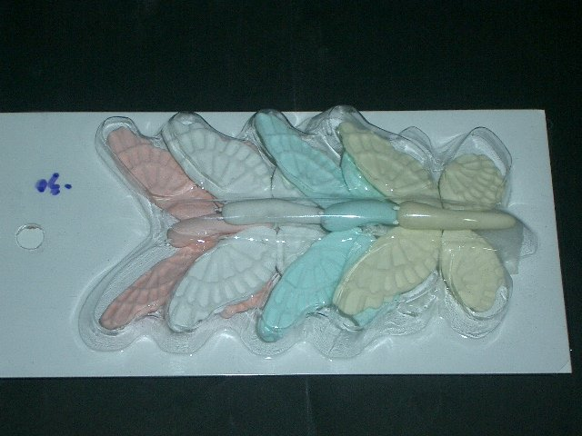 Cake Toppers Butterfly 4 Pcs.