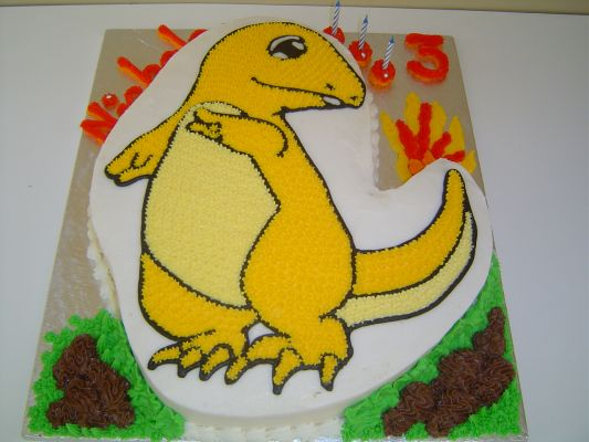 204 Digimon cakes for boys