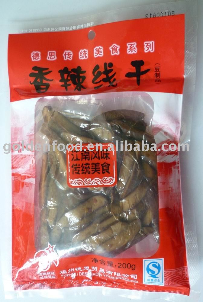 spicy bean  curd  products