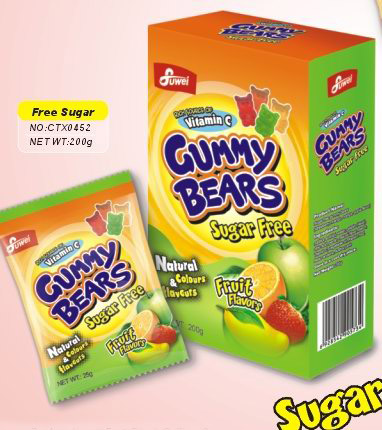 Sugar free Gummy Bear