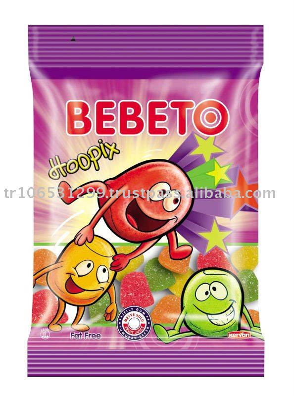 BEBETO 20g Hoopix Jelly Gum