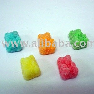 SOUR NEON GUMMY BEARS