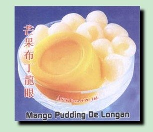 Jelly Desserts  Mango Pudding