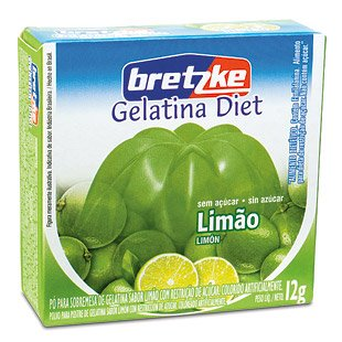 Jelly:Gelatin Diet Lemon 12g