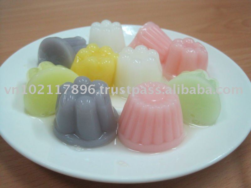 Fruit Pudding, pudding, jelly, fruit jelly