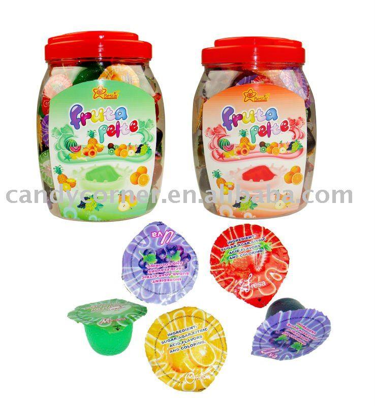 Fruit Jello Cups Mini Fruit Jelly Cup
