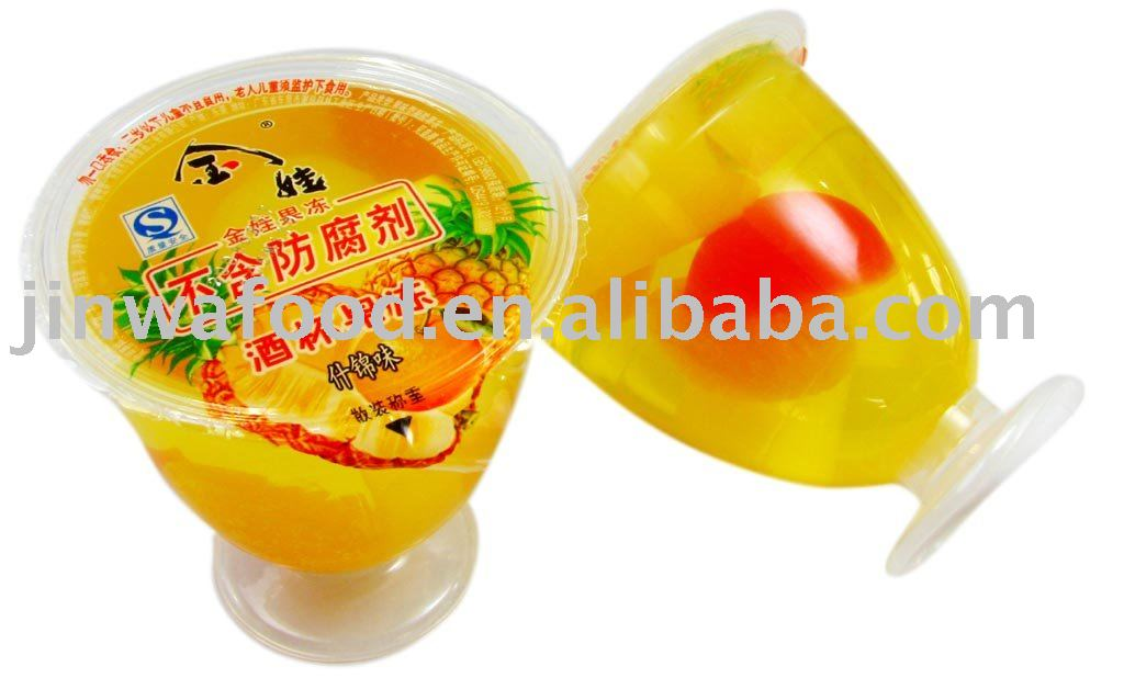 Fruit Jelly Cups Recipe 125g Cup Jelly Mixed Fruit