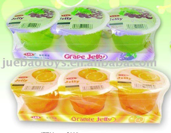 200g real fruit meat inside fruit jelly in cups