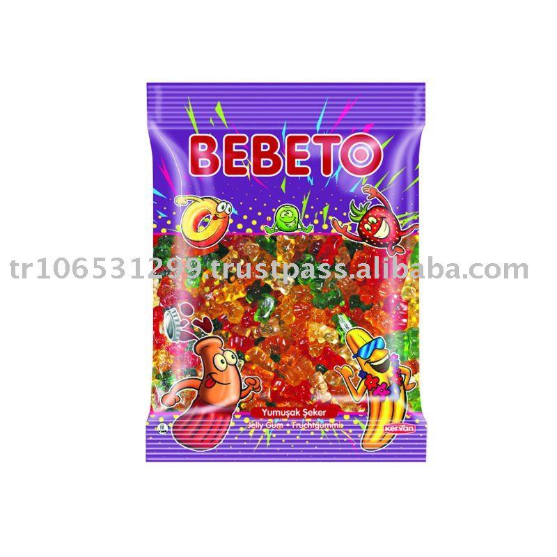 BEBETO 500g Bulk Jelly Gum