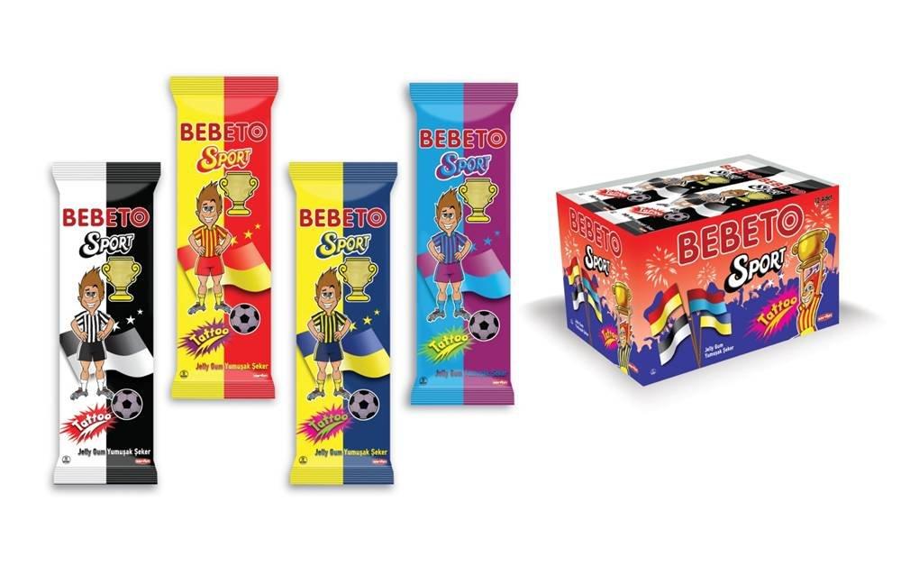 BEBETO 23g Sport Jelly Gum